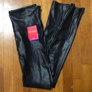 NWT Spanx Faux Leather Leggings
